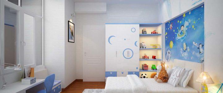Trần thạch cao Quảng Nam thiết kế phòng ngủ cho bé