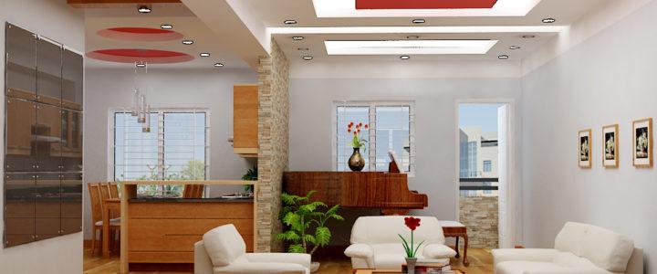 Trần thạch cao Quảng Nam cách chọn màu sắc trần theo phong thủy