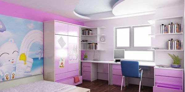 Trang trí phòng em bé theo chủ đề
