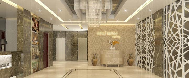 Mẫu trần thạch cao khách sạn, nhà nghỉ ấn tượng