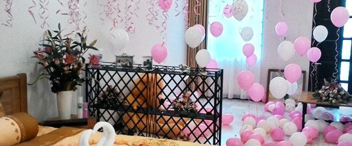 Phòng đẹp cho mùa cưới ngập tràn hạnh phúc.