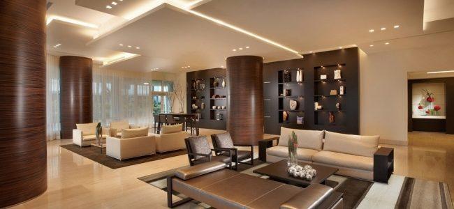 Vẻ đẹp từ thạch cao tạo nên nét sang cho ngôi nhà.