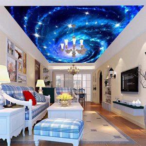 Trần xuyên sáng 3D một không gian mới, sinh động,huyền ảo.